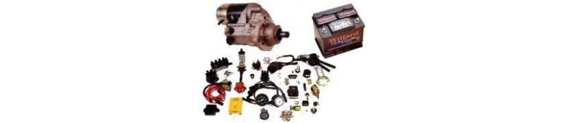 Electricidad del vehículo.