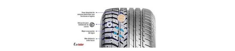 Neumáticos para el vehículo.